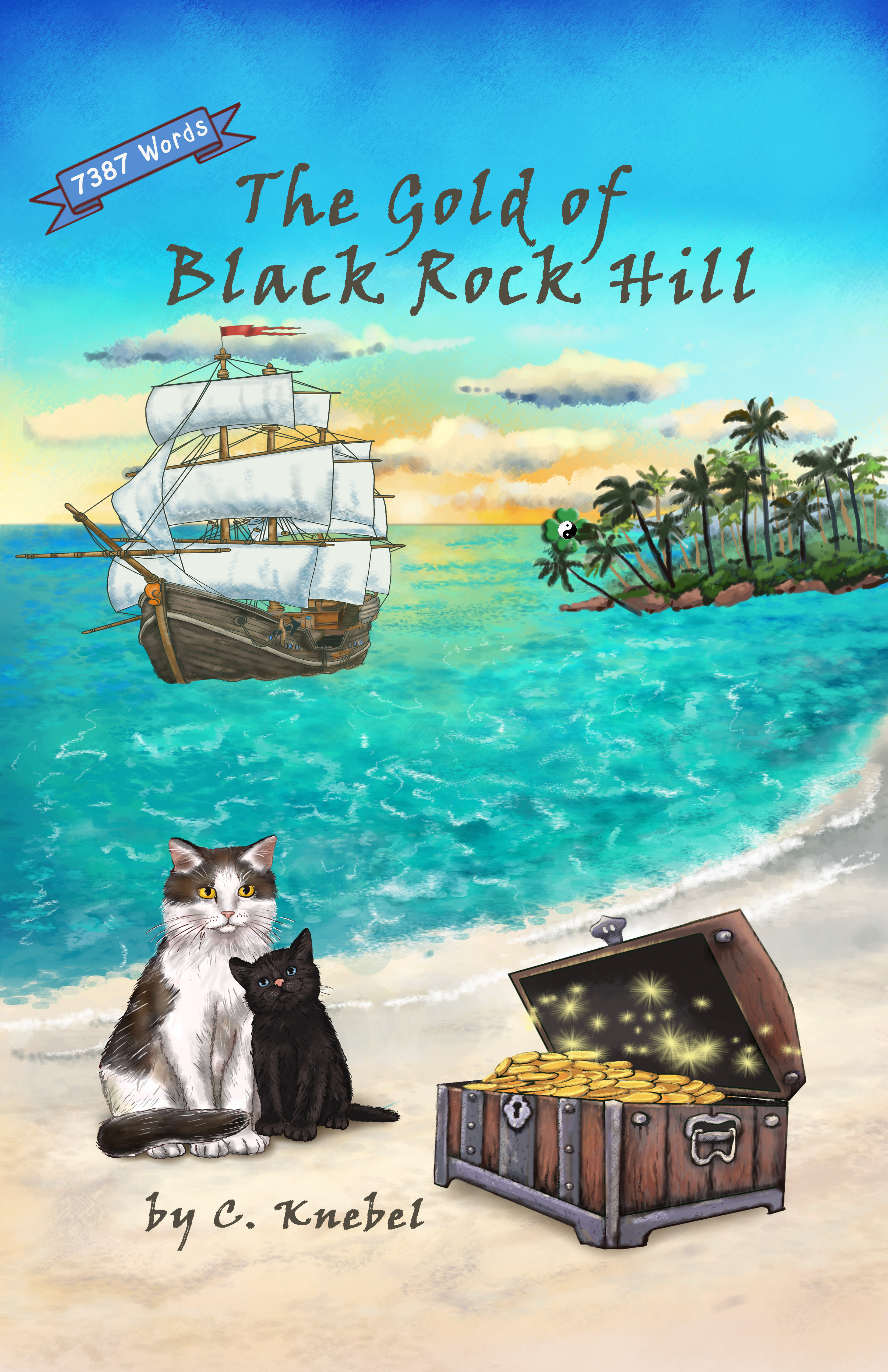 The Gold of Black Rock Hill - Simple Words Books