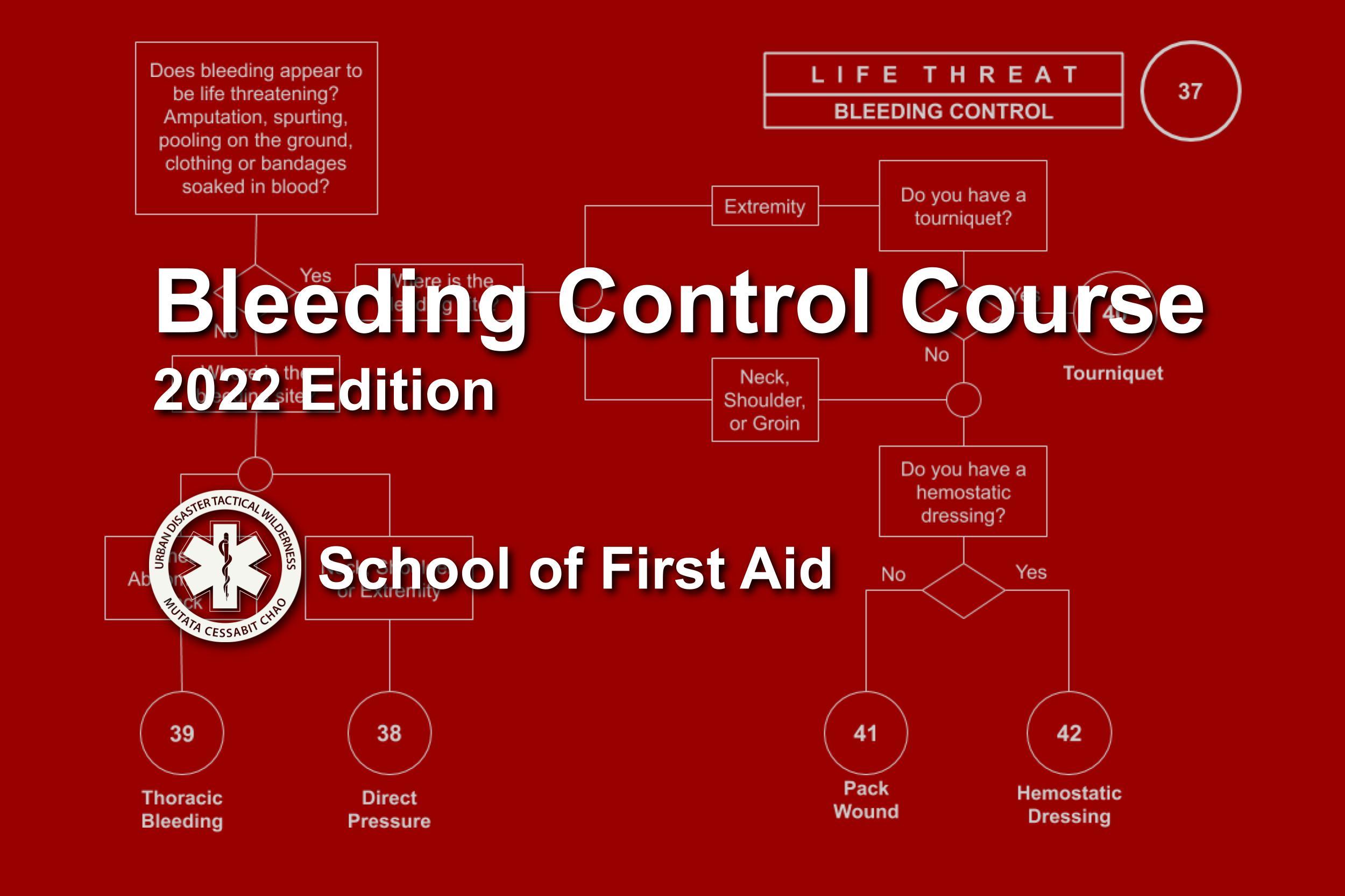 Bleeding Control Course