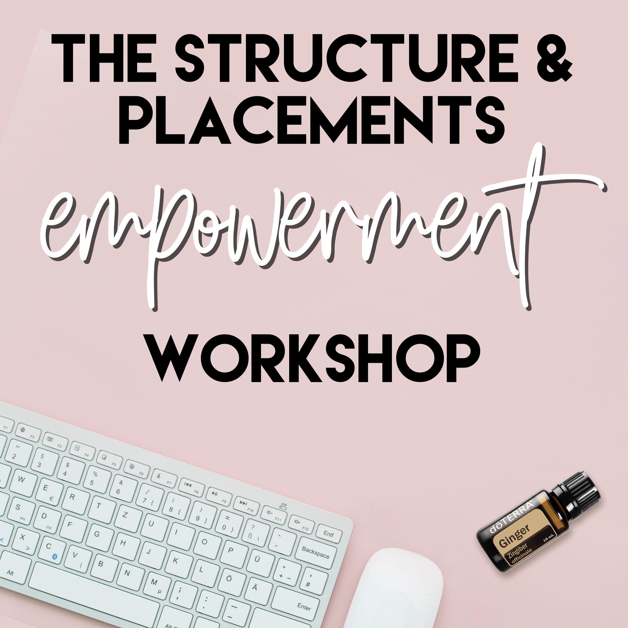 Structure & Placements Course