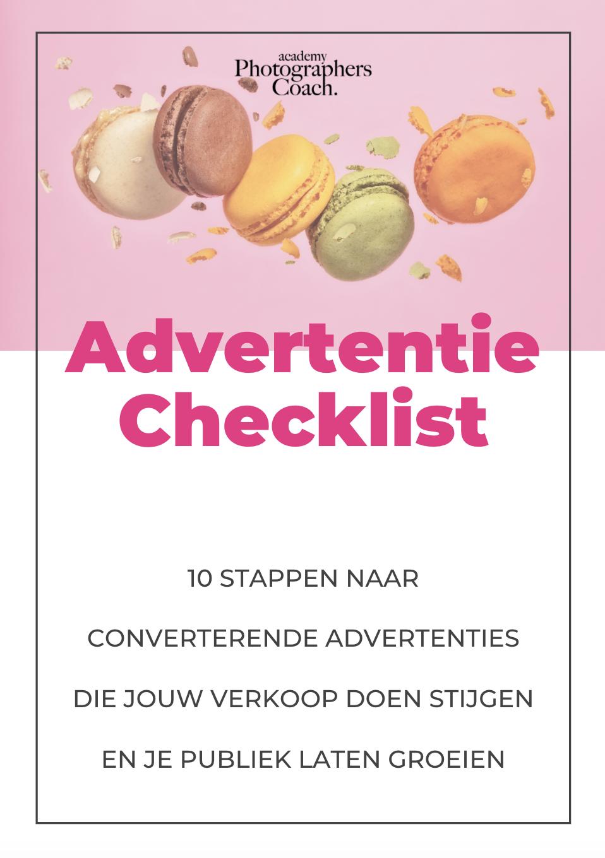 Bonus 1: Advertentie Checklist