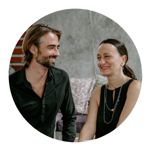 Sophie Parienti and Jesse Gabler, course leaders for Transformative Communication Course