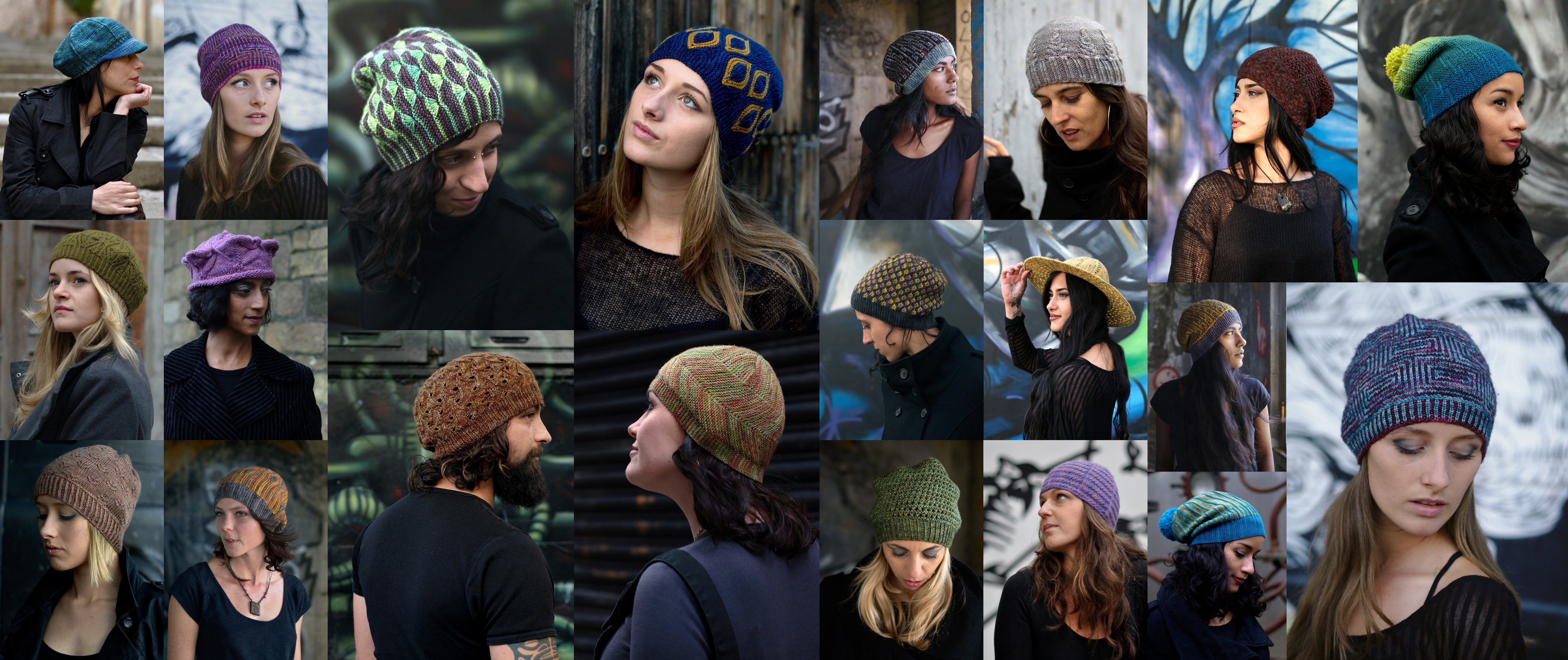 collage of photos from Woolly Wormhead