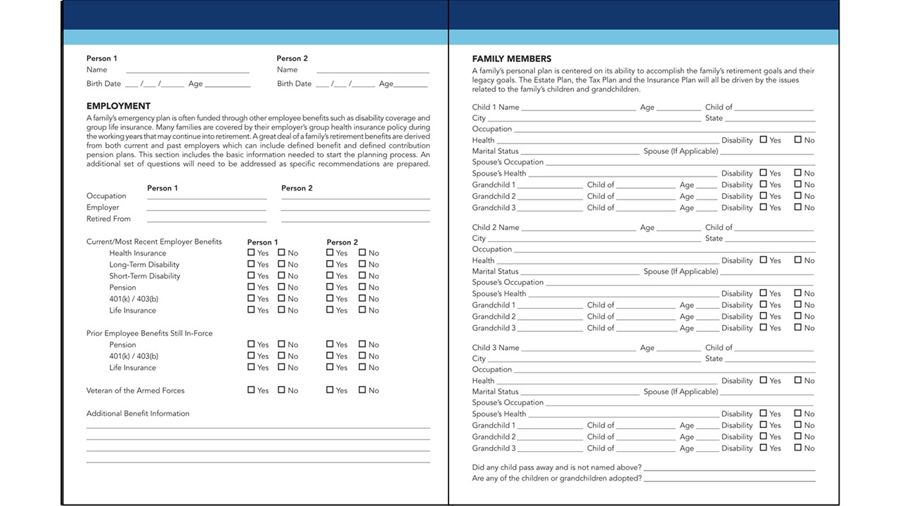 APEG Interview Form