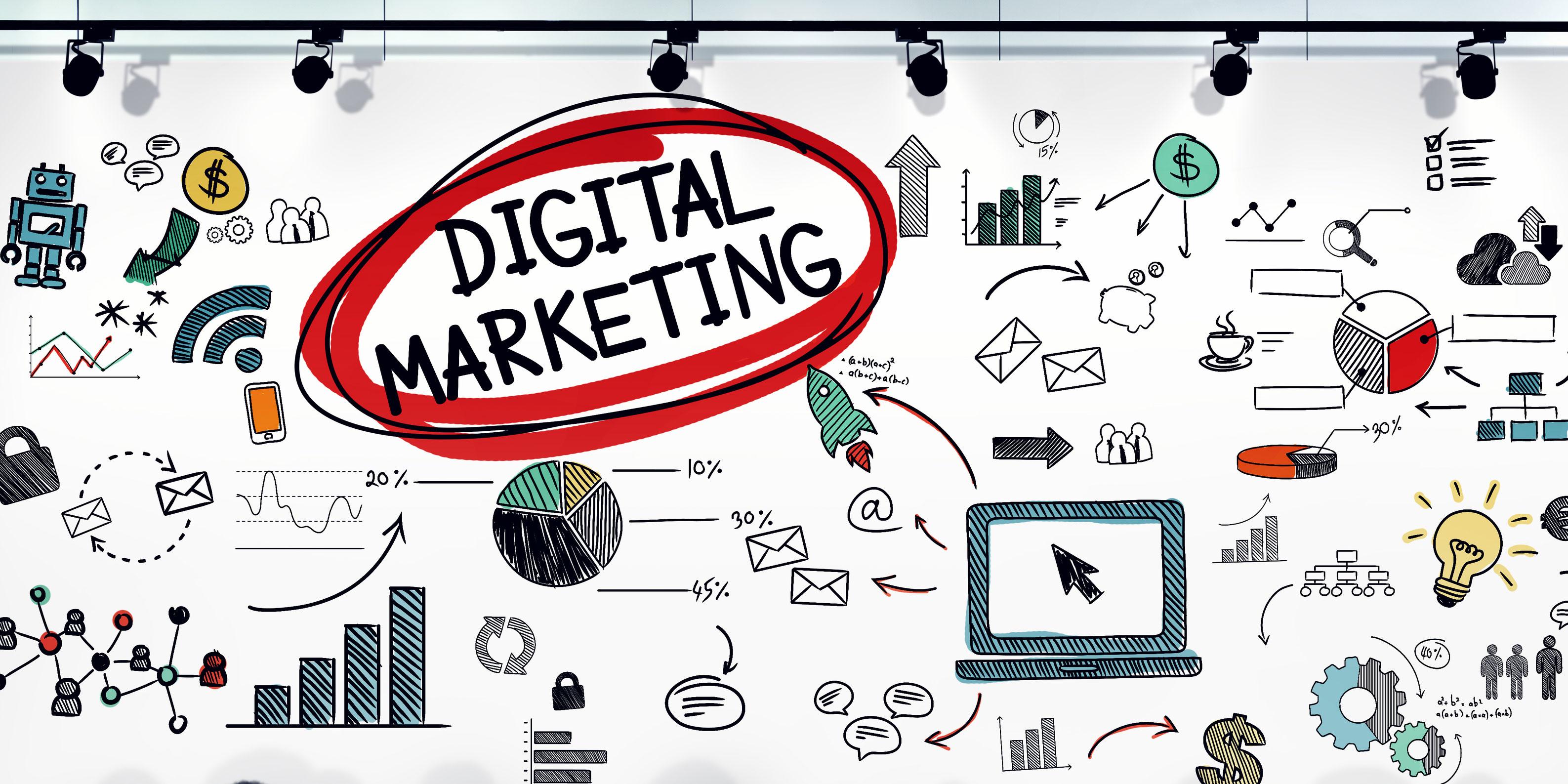 Marketing Digital: Googles Ads, Facebook, Instagram, Email.