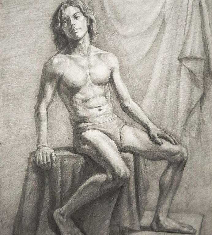 figuralni kresba praha