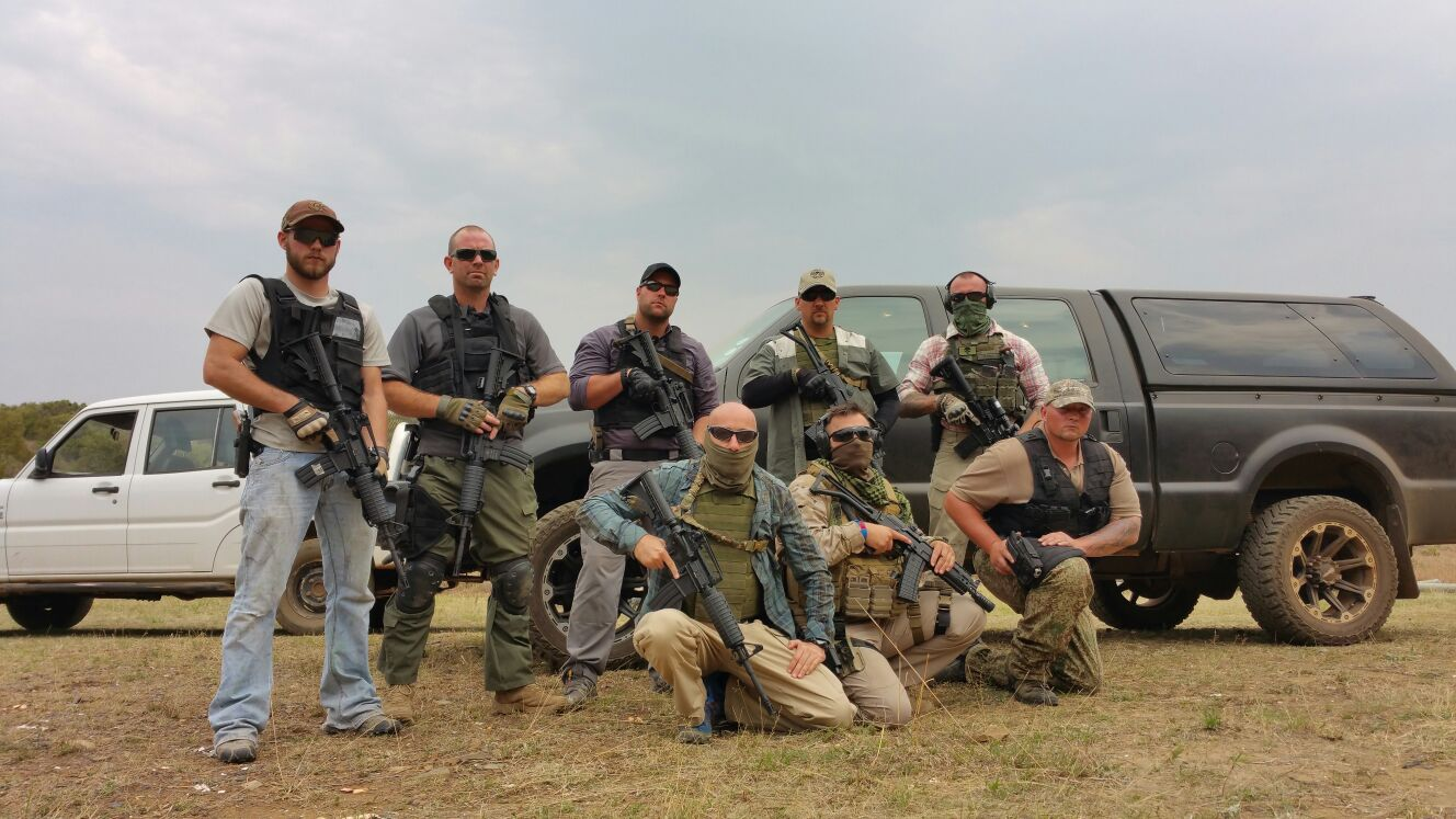 Manrico Erriu in Sud Africa mentre addestra un team in materia di PSD Close Protection e Counter Terrorism