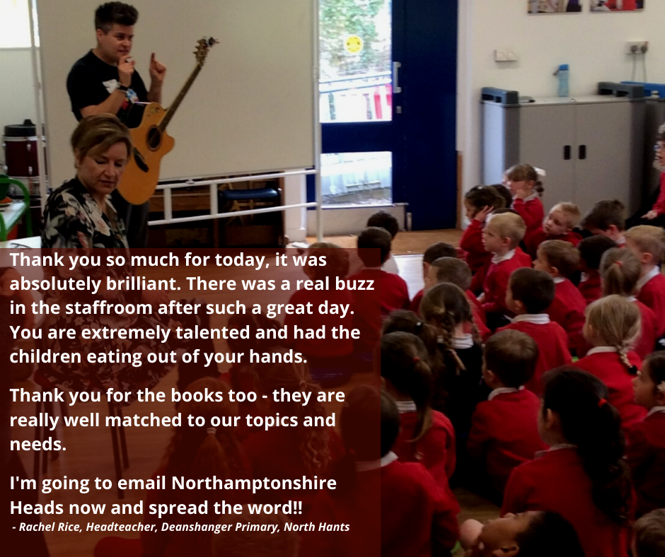 Al Start from Go Kid Music at Deanshanger Primary School