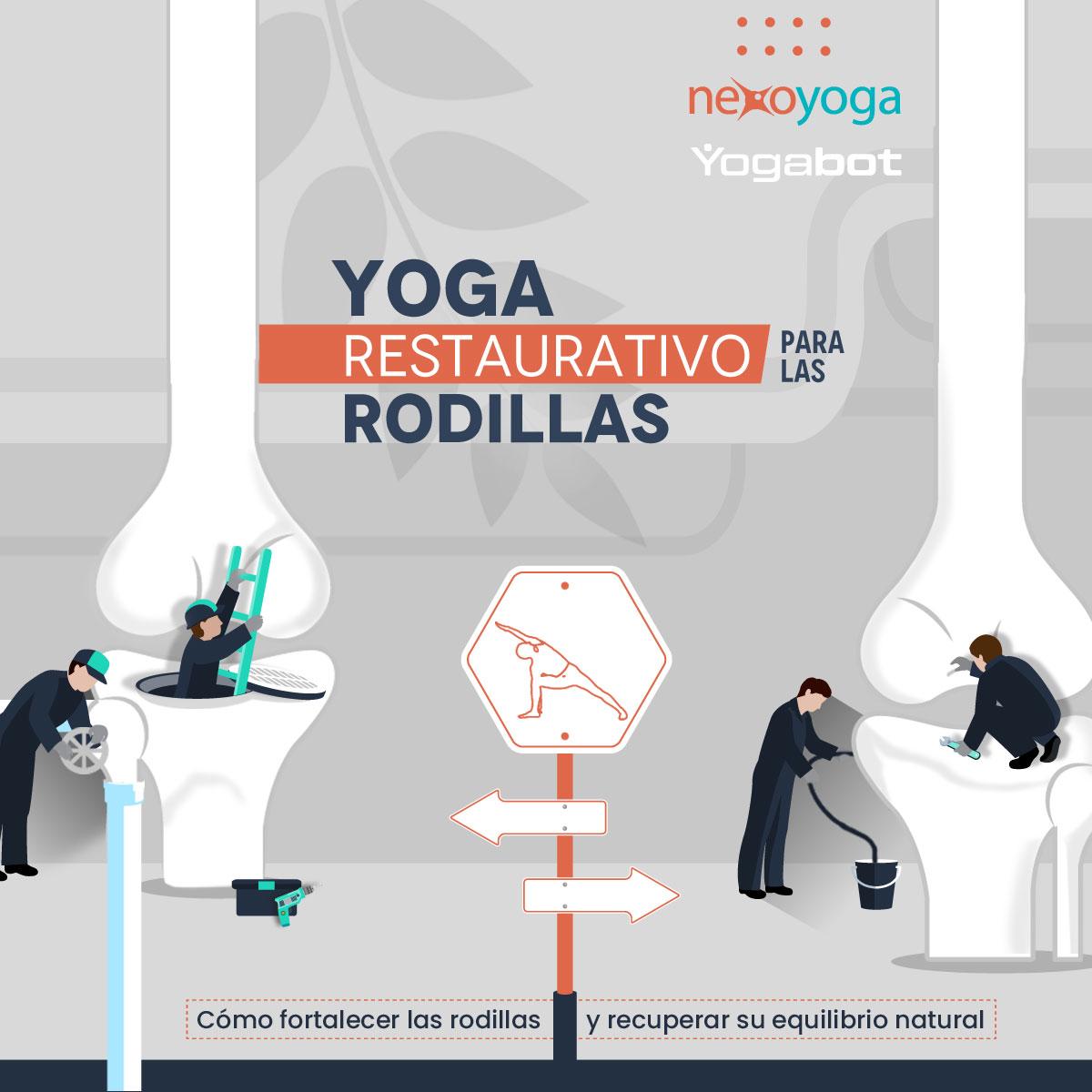 Yoga Restaurativo para Rodillas