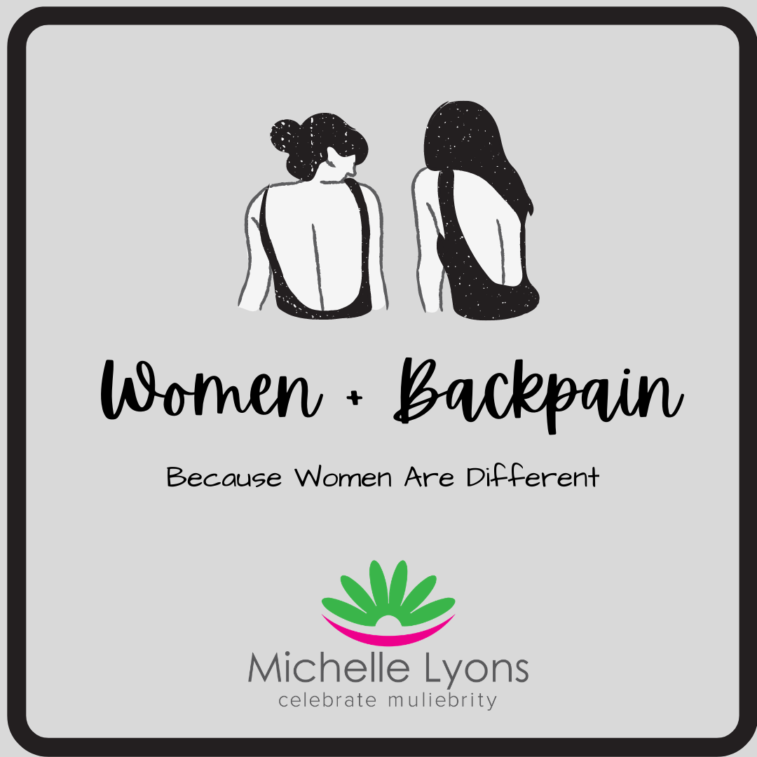 Welcome to the Women & Back Pain Course by Michelle Lyons