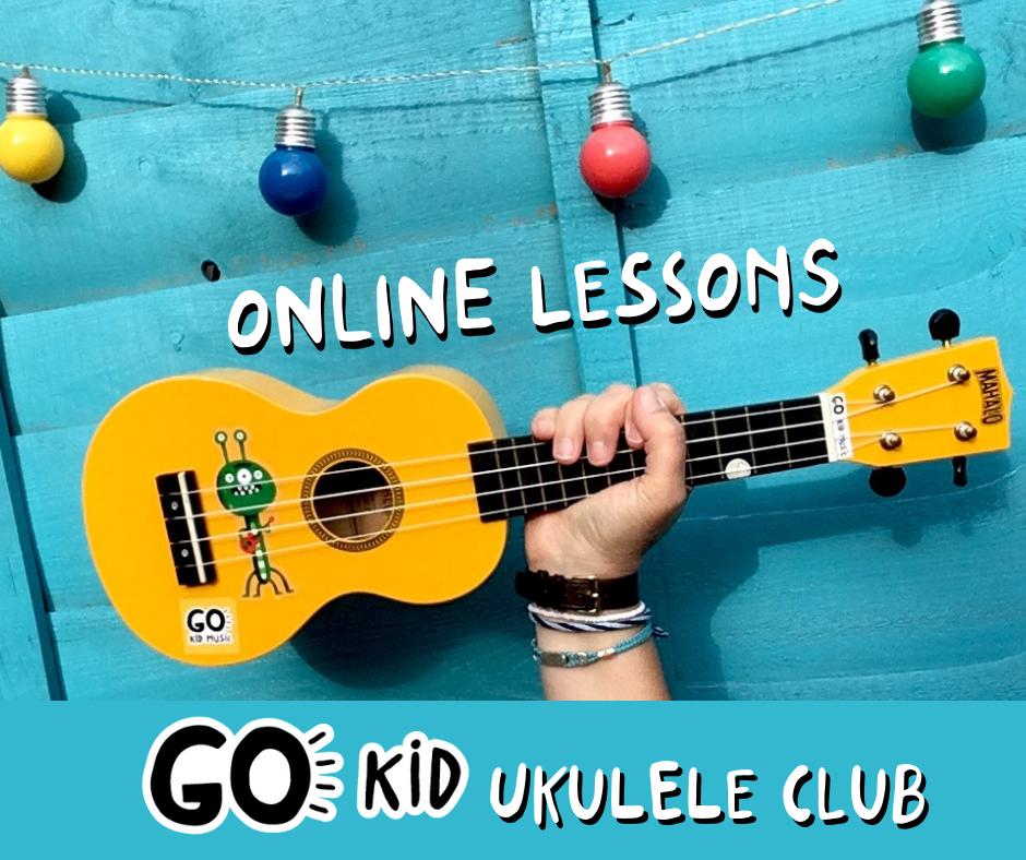 yellow ukulele Al Start