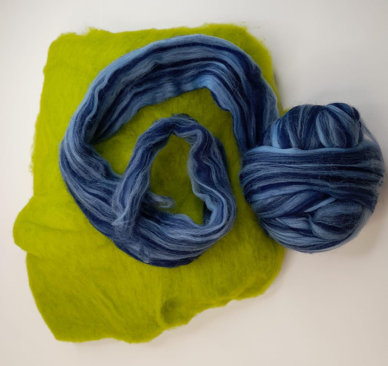 merino wool used for wet felting