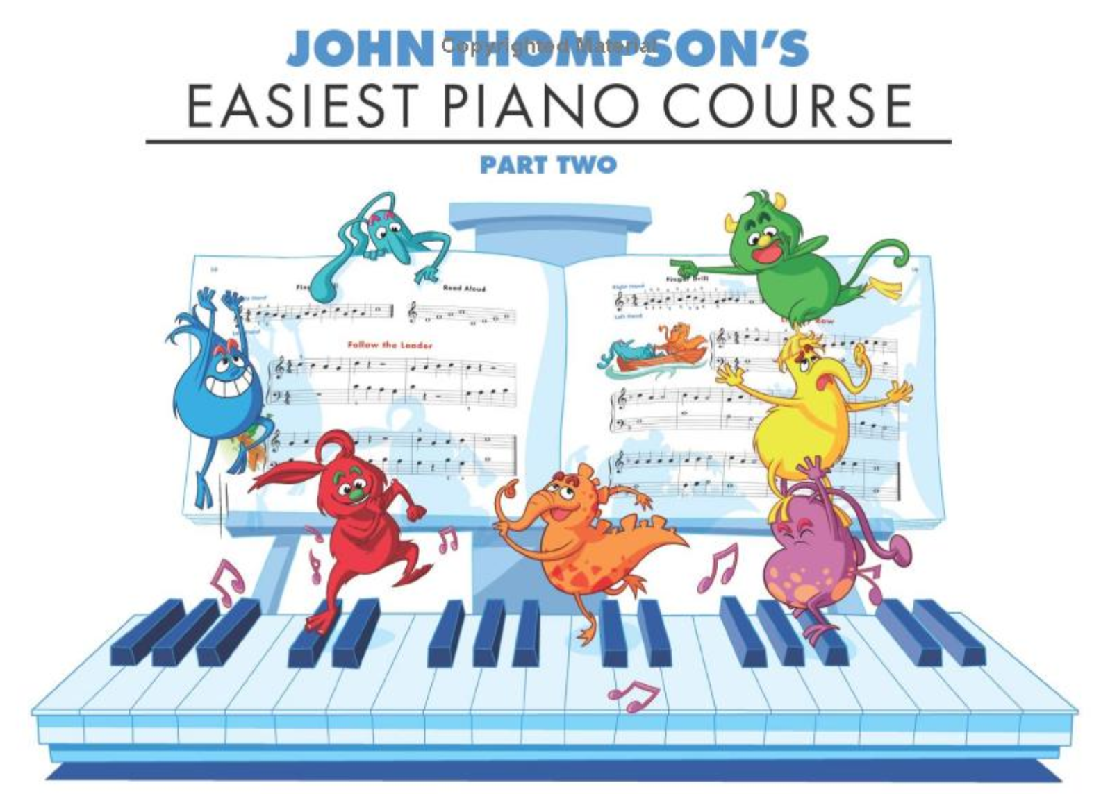 Qian Tutor John Thompson Easiest Piano Course Part 2