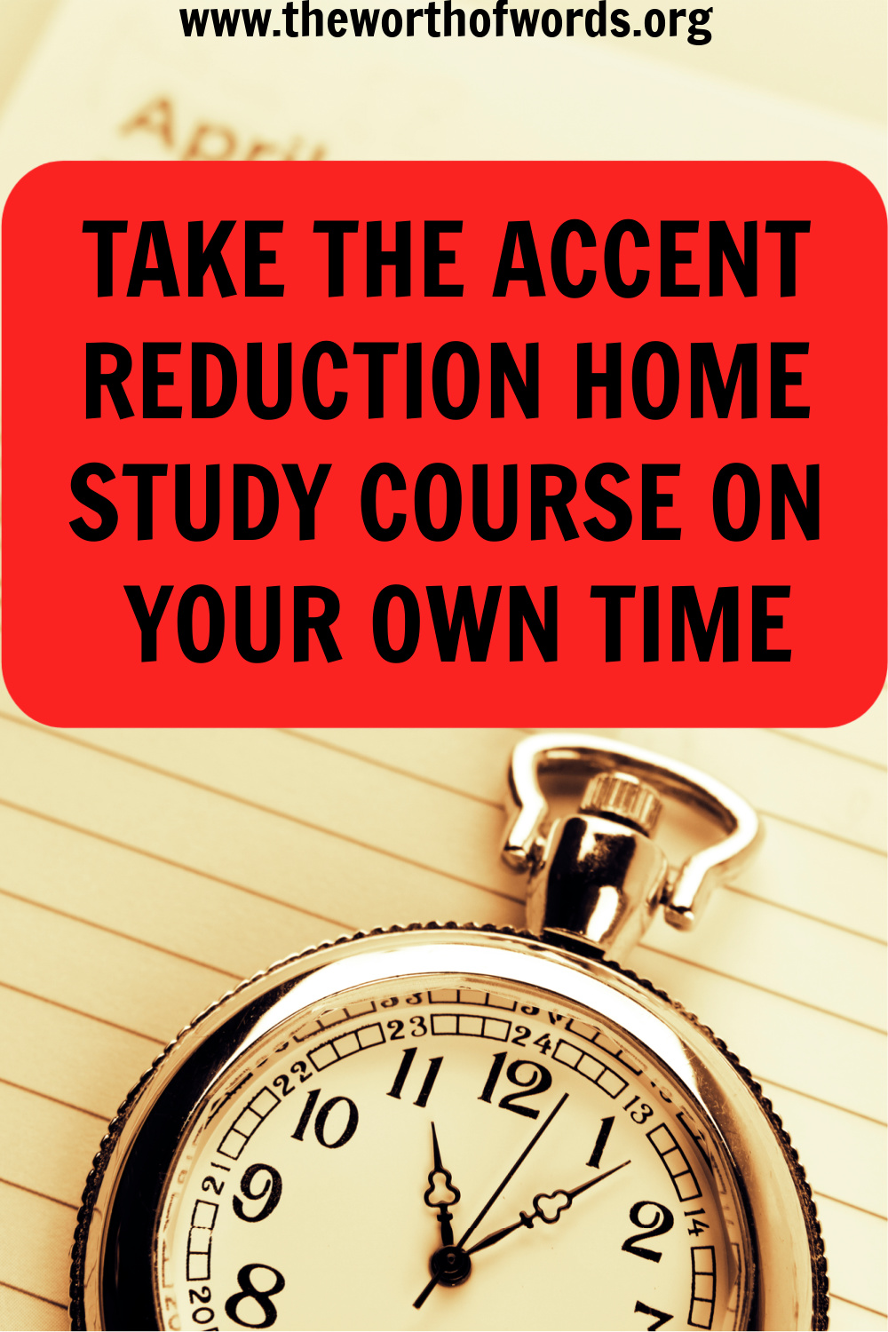 accent reduction home study course