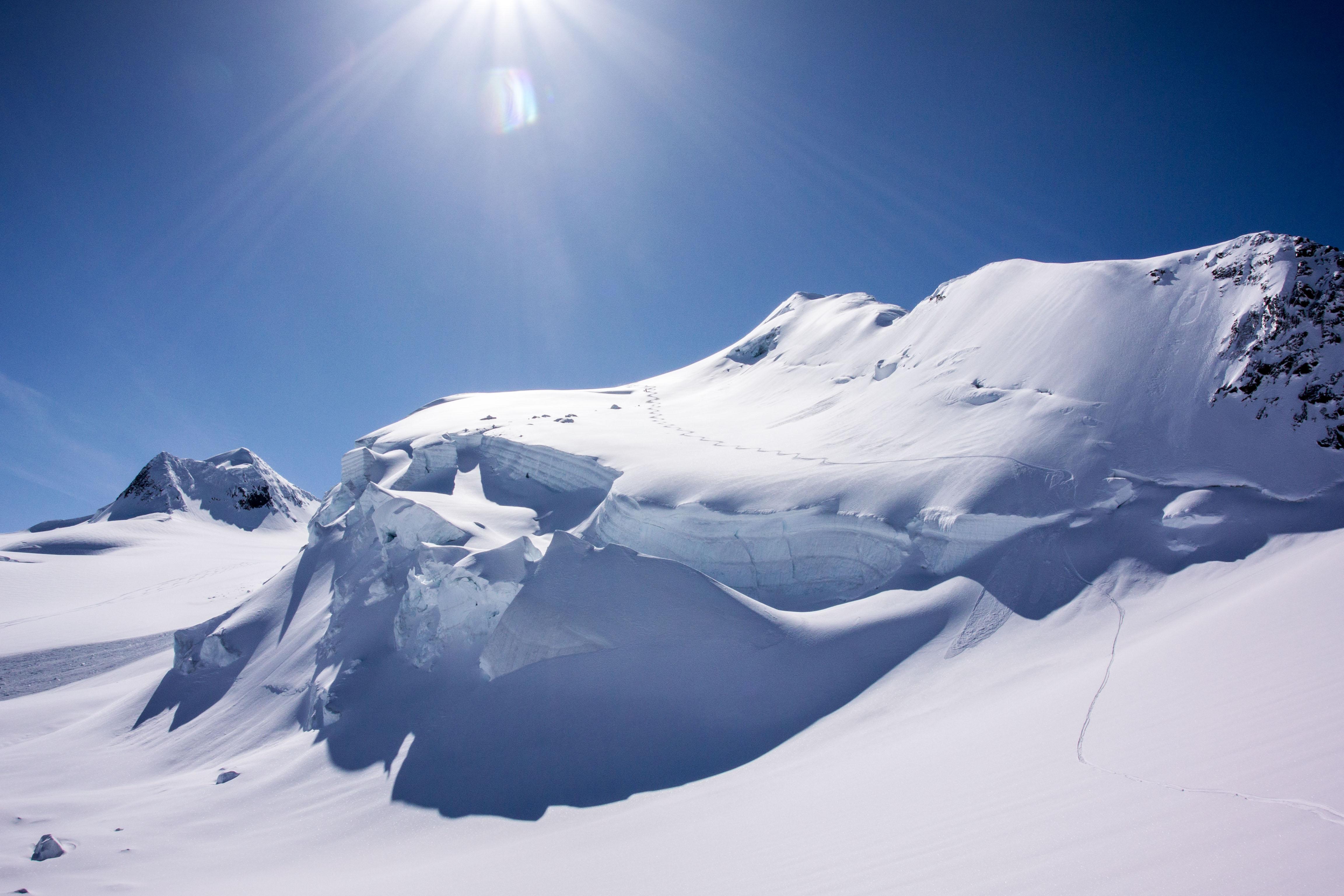 Avalanche course powder skiing canada guide