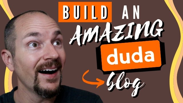 how to build a duda blog