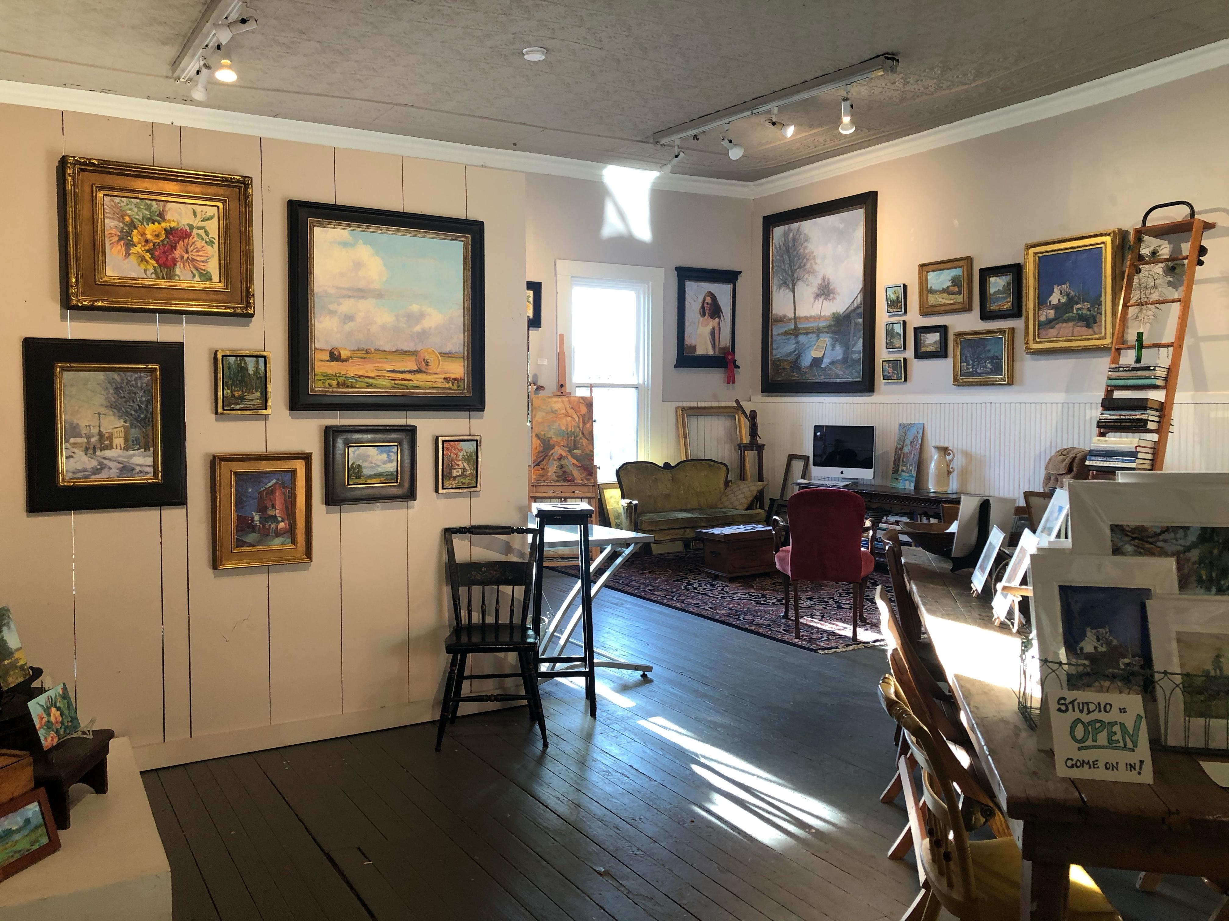 Lambertville art studio