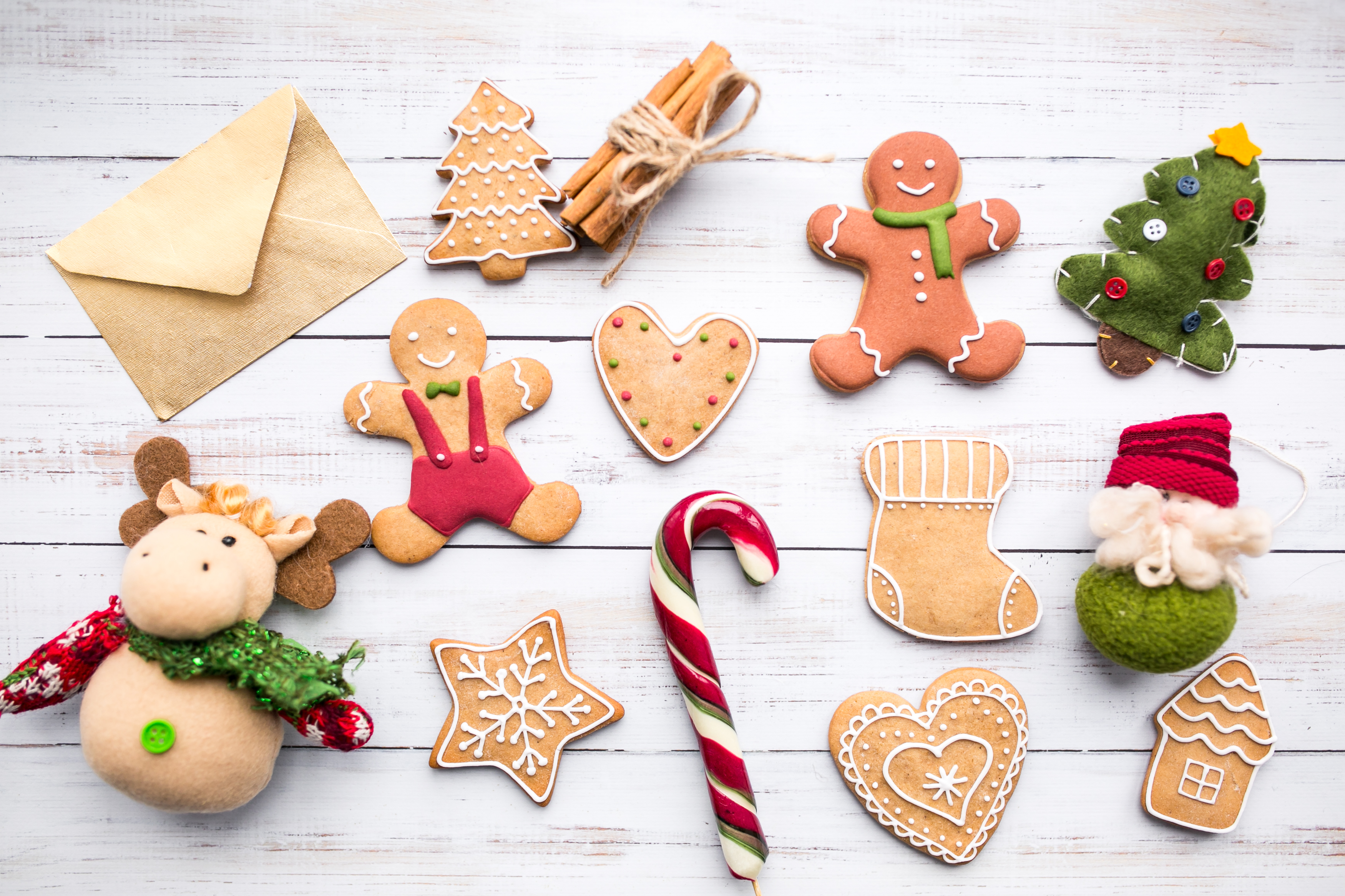 Business help for bakers and sweet treat makers. This is an image of Christmas cookies and treats.