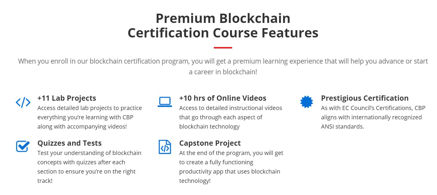 Premium Blockchain Certification