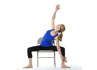 Chair Yoga - Seated and Standing