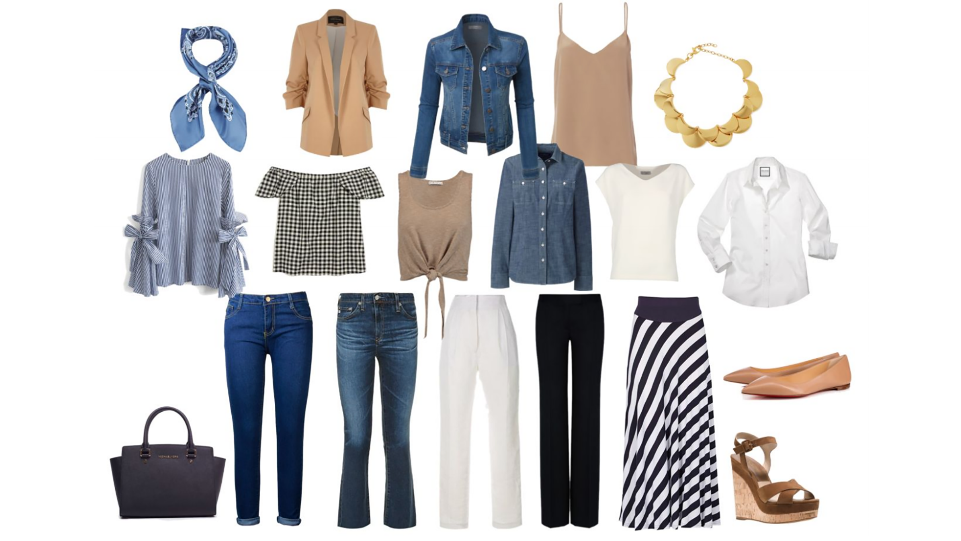 How To Create An All-Neutrals Capsule Wardrobe