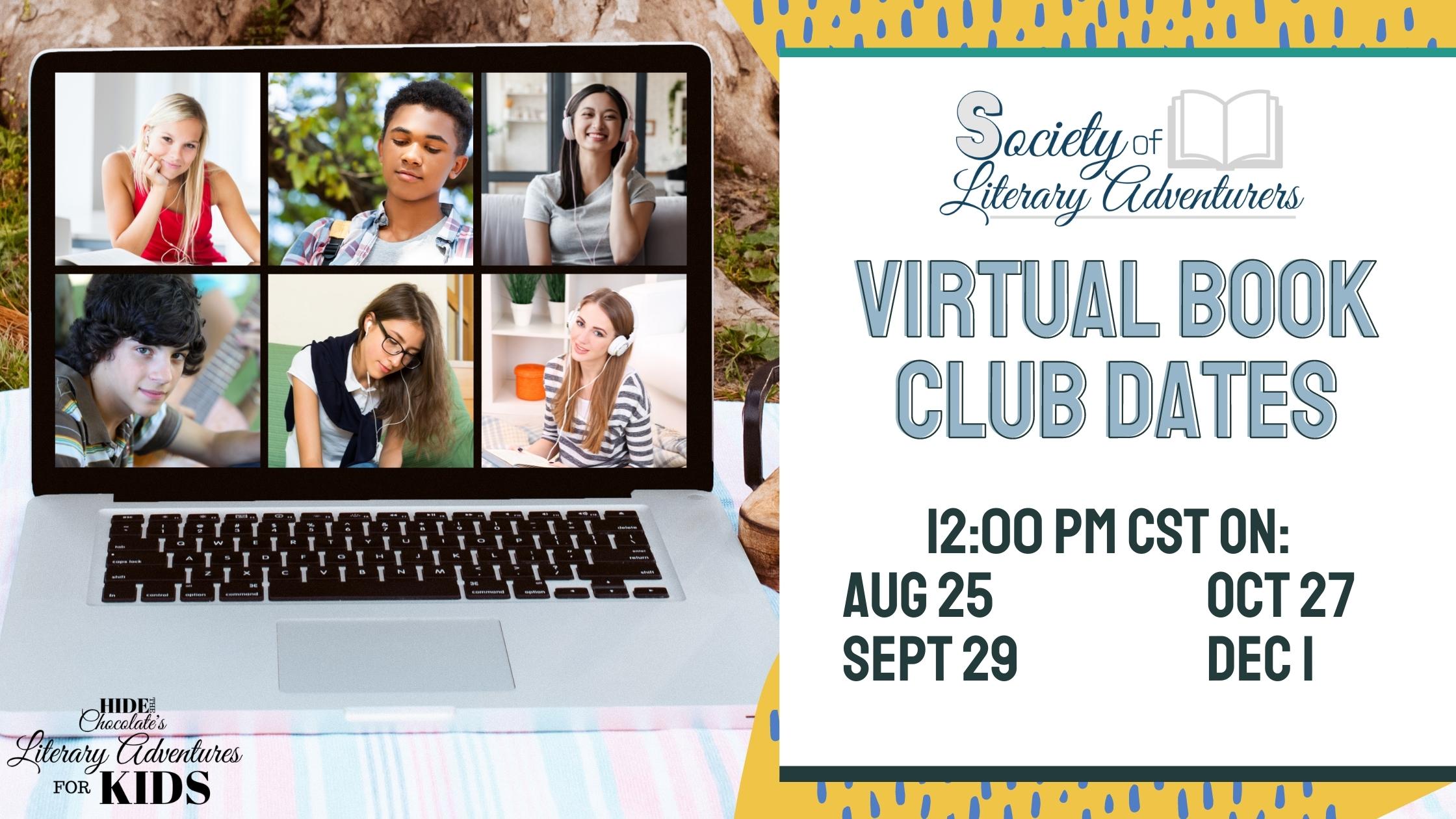 Virtual Book Club Dates