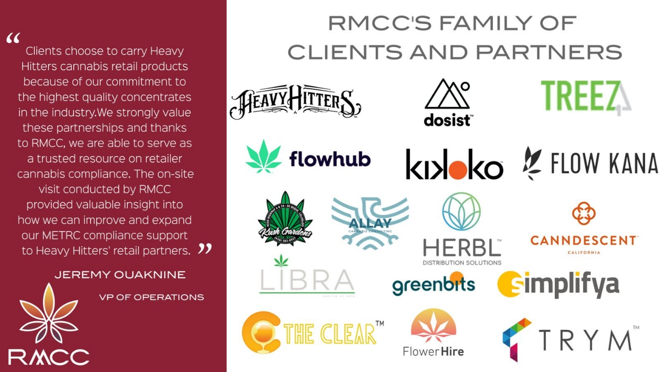 rocky mountain compliance cannabis consulting and training family of clients and partners