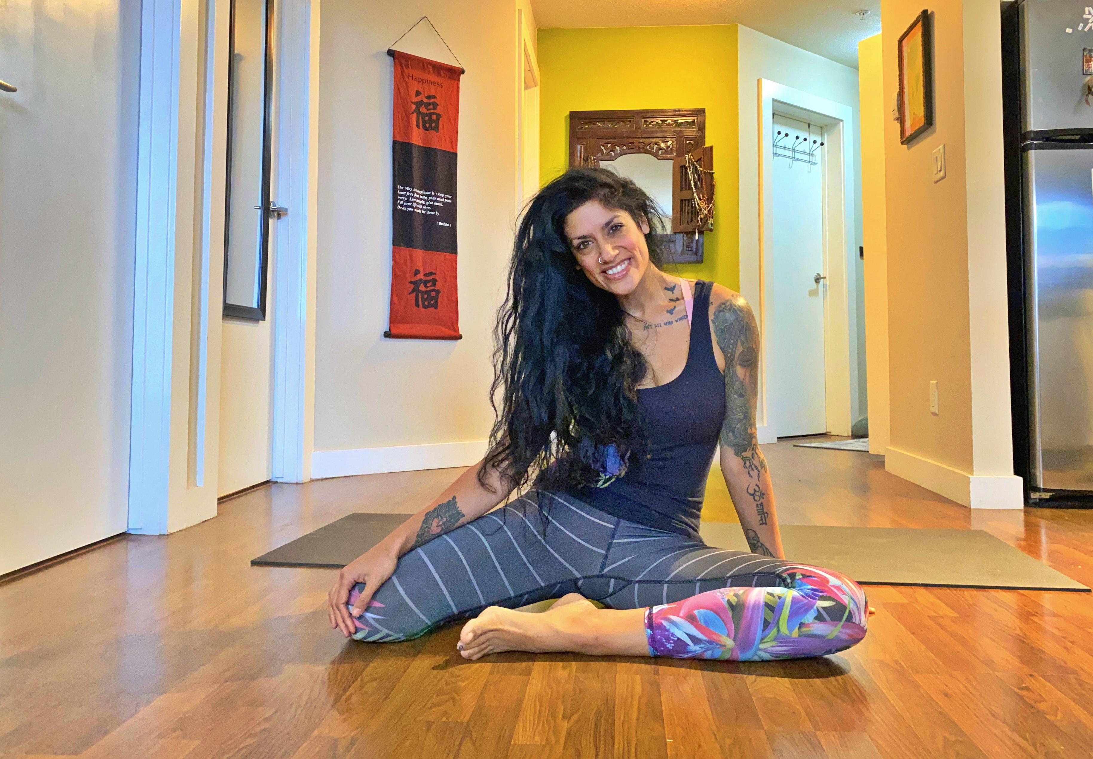 Becca Pati, Yoga, vinyasa, meditation, hatha, beginner, intermediate, advanced, flow, gentle, strength, core, workout,