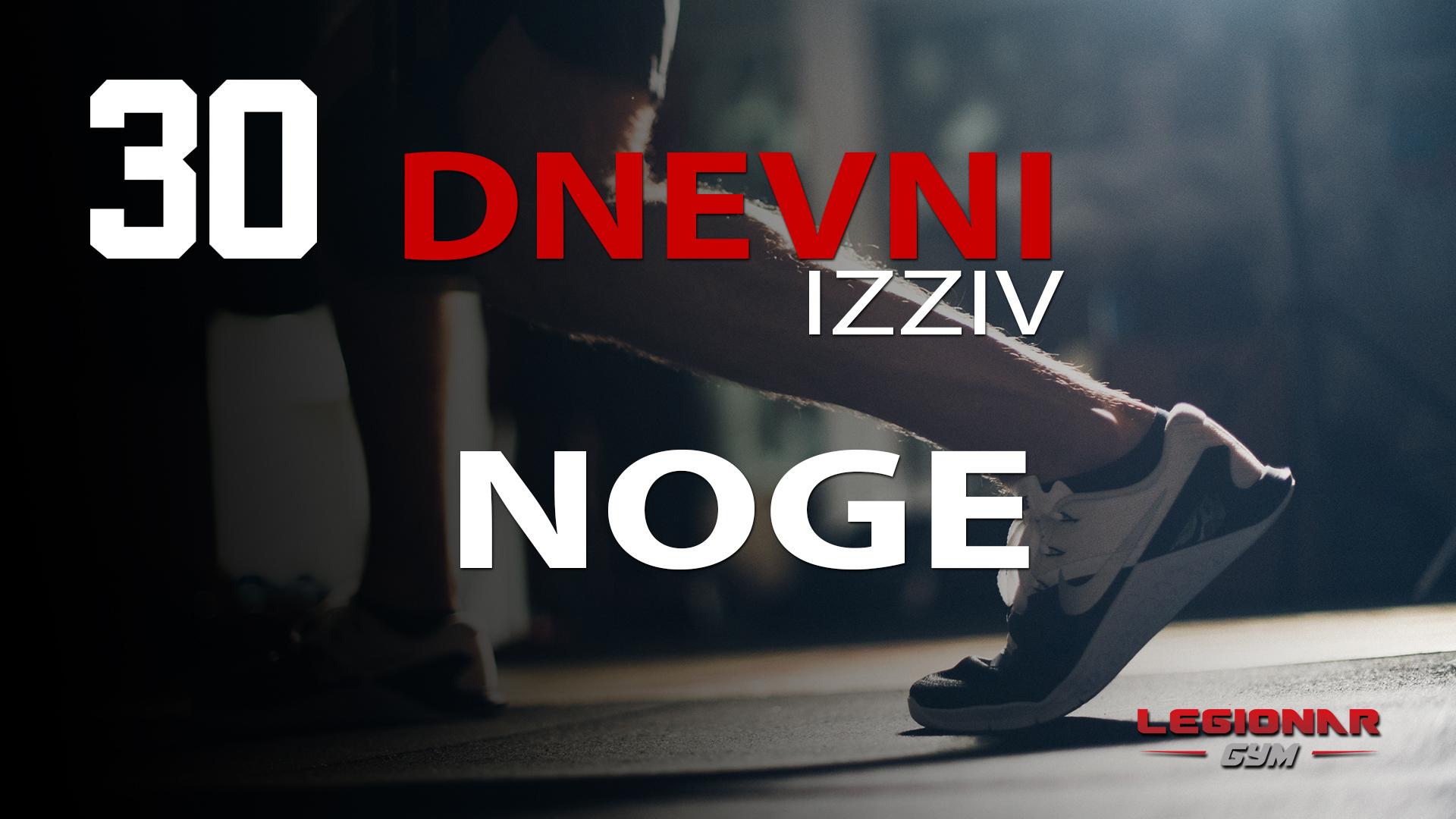 30 dnevni izziv za NOGE