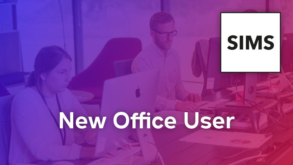 New Office User