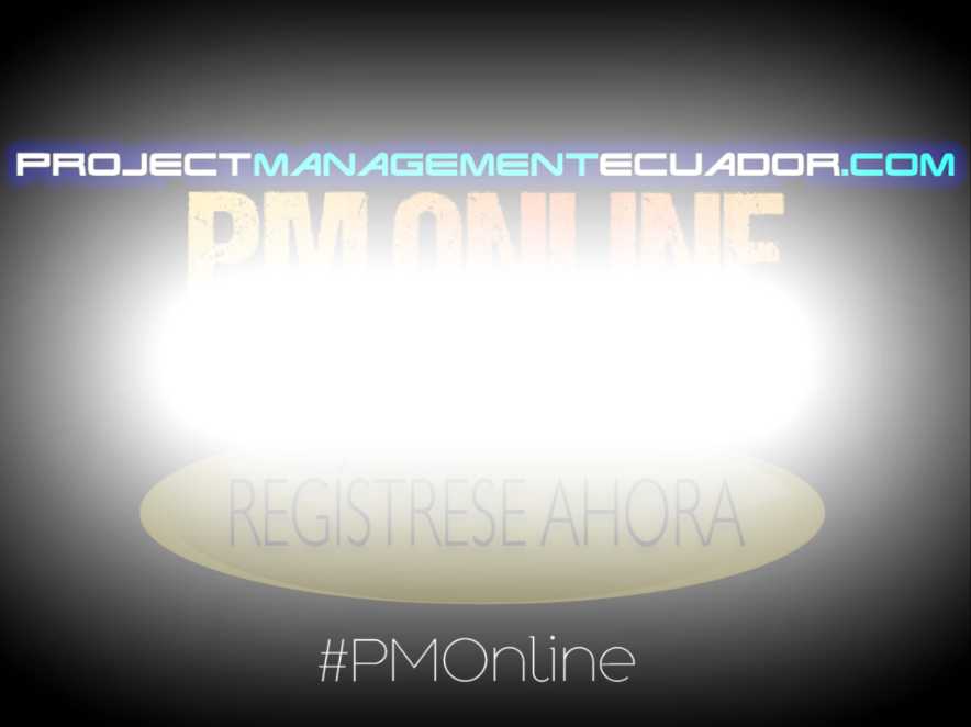PM Online by ProjectManagementEcuador.com. Programa Integral de Dirección de Proyectos