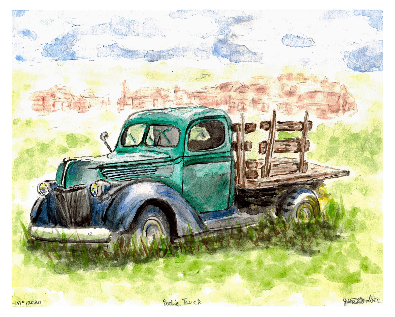 Dilapidated Truck in Bodie State Park in California