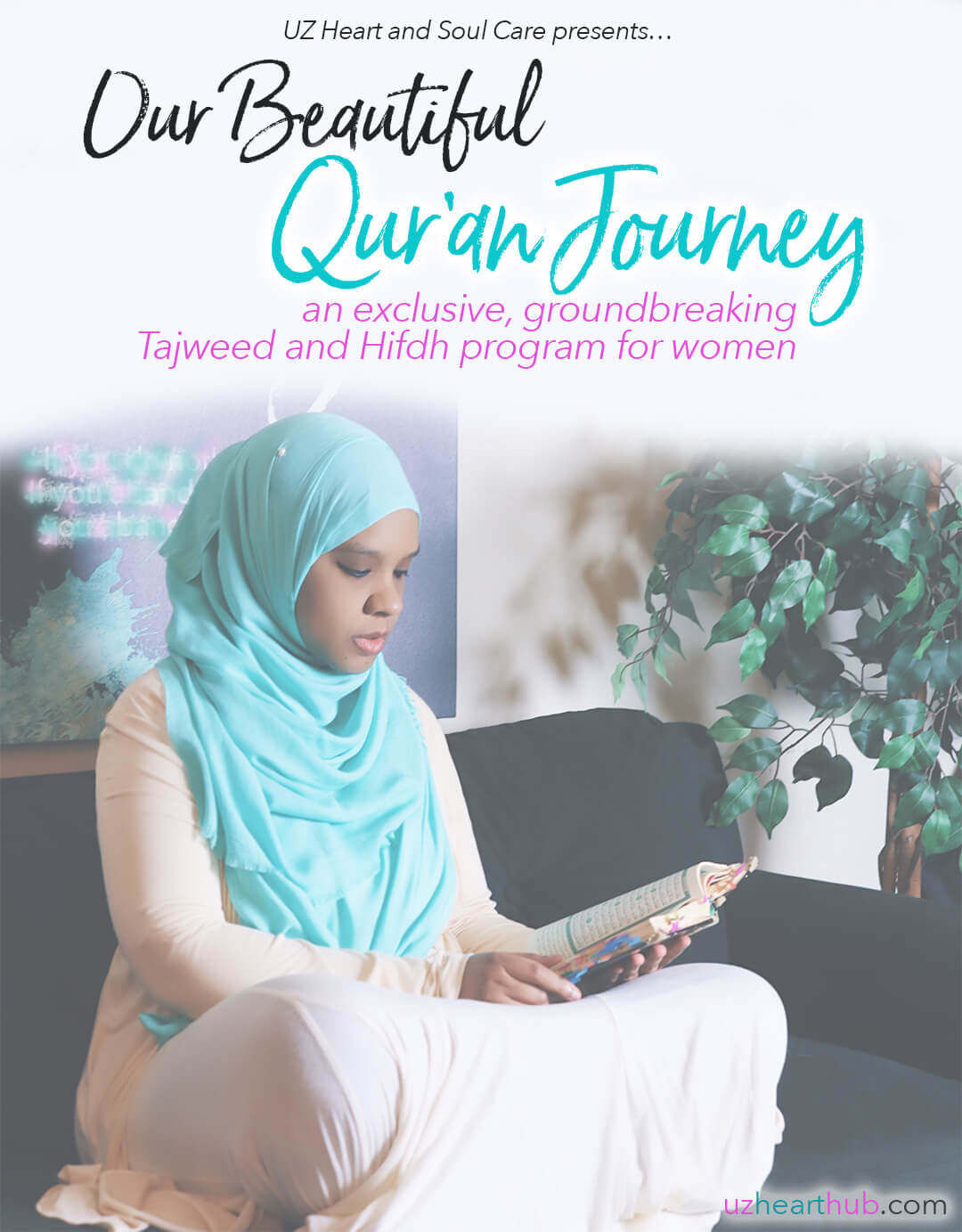 flier of Our Beautiful Qur'an Journey