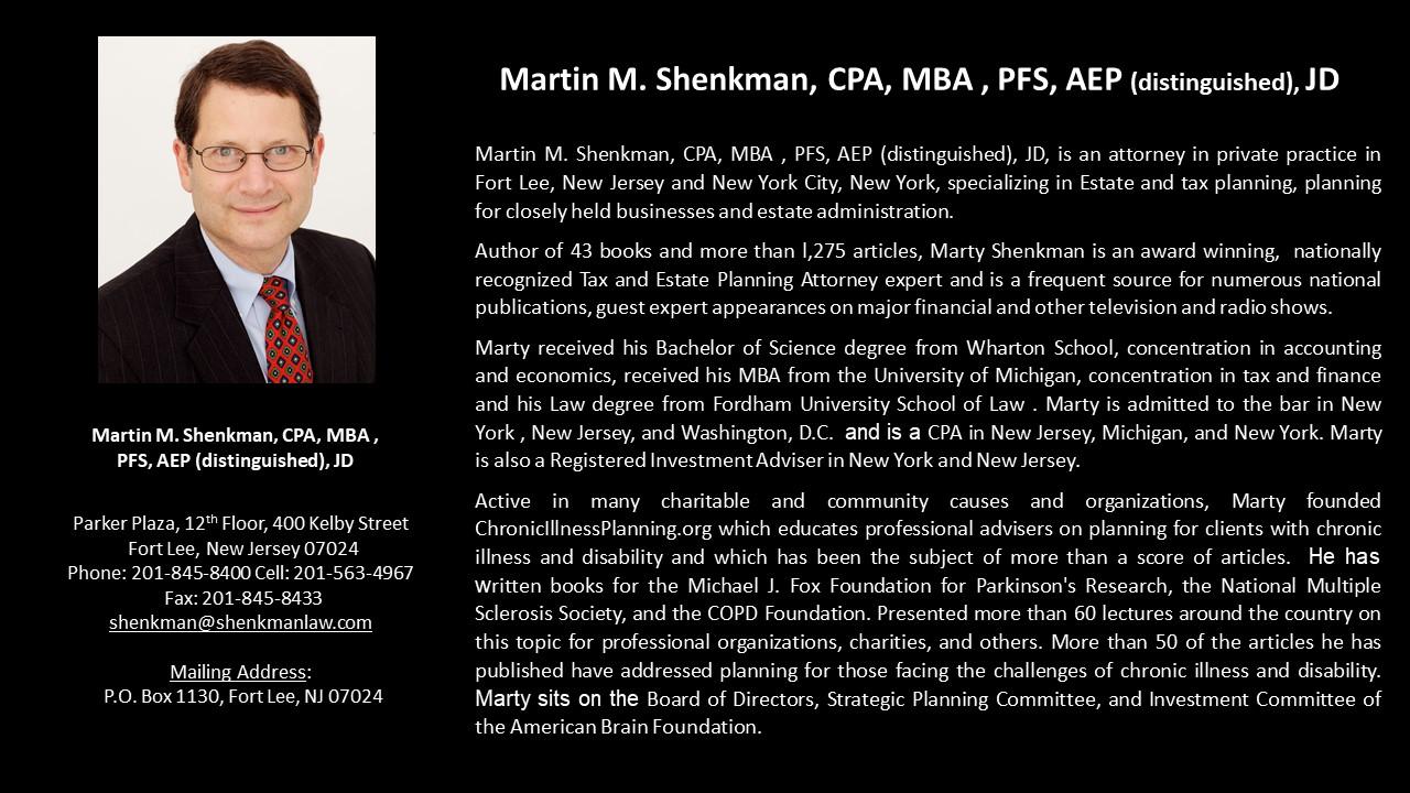 APEG Martin M. Shenkman
