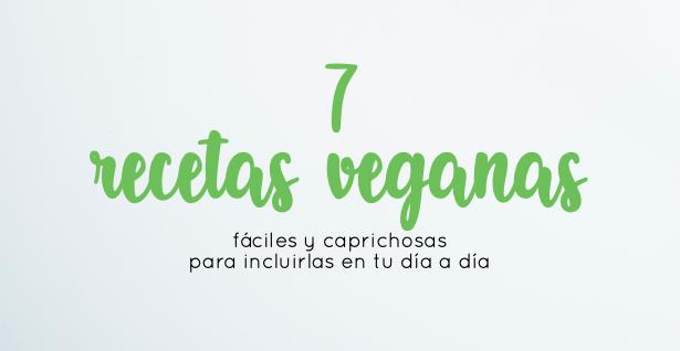 7 recetas veganas