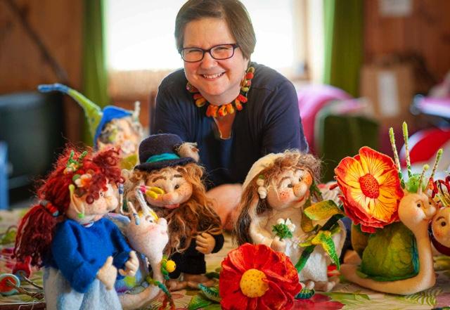 Felt Fairies art studio with Franziska Lienberger