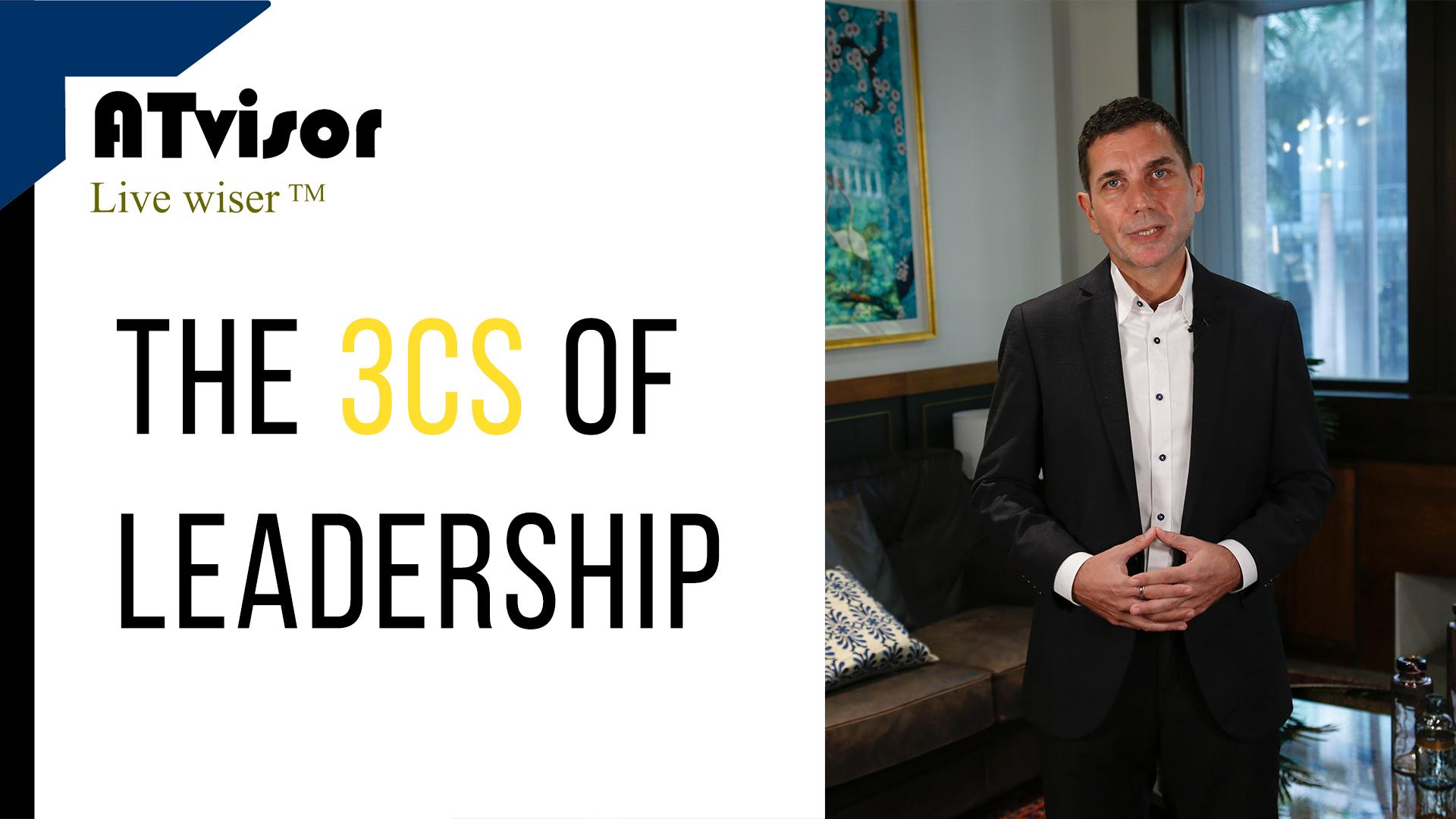 The 3 Cs of Leadership