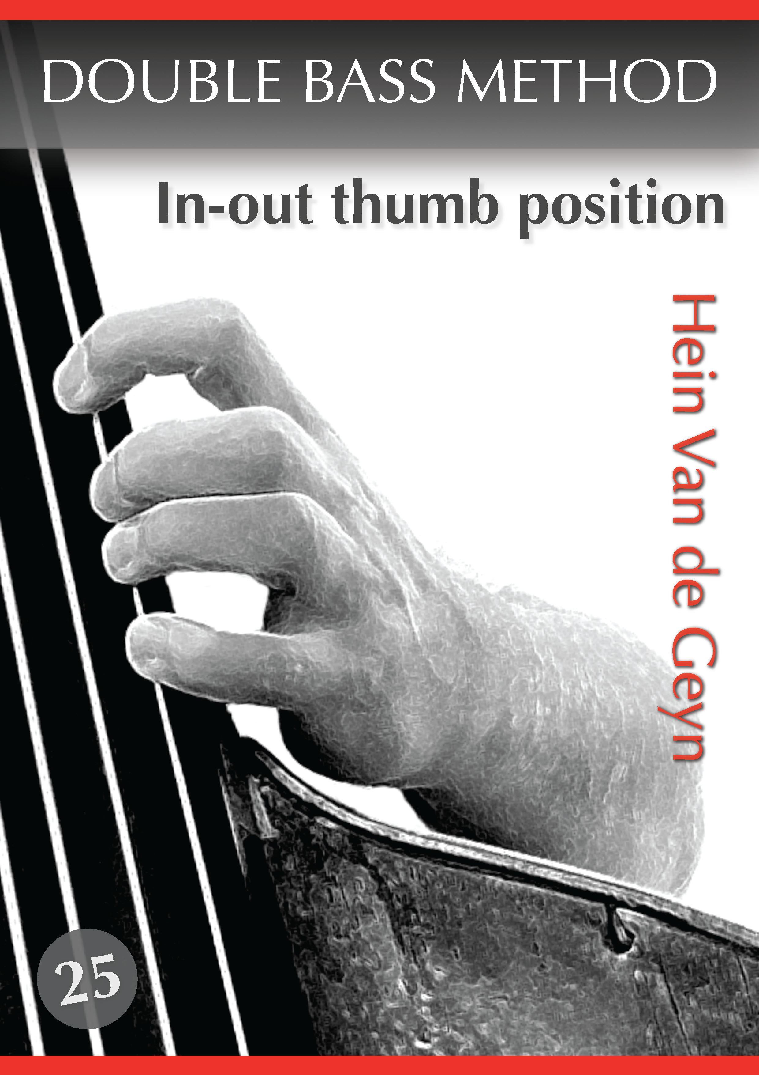 In-out thumb position - Hein Van de Geyn - Double Bass Method