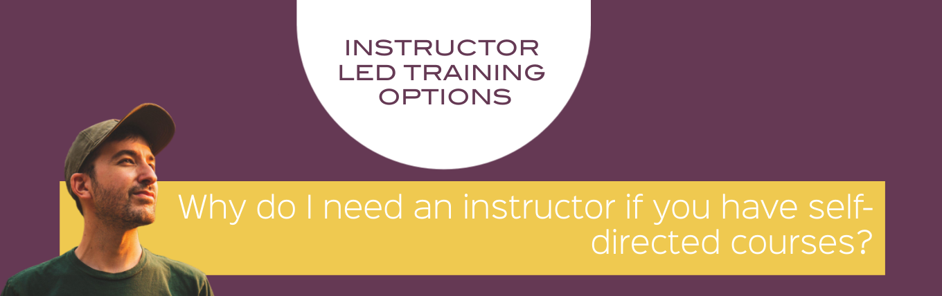 instructor led training options with RMCC