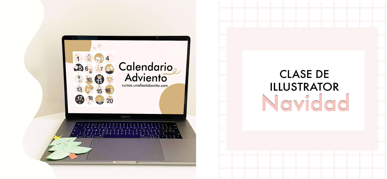 Curso online para diseñar kits e fiesta con illustrator
