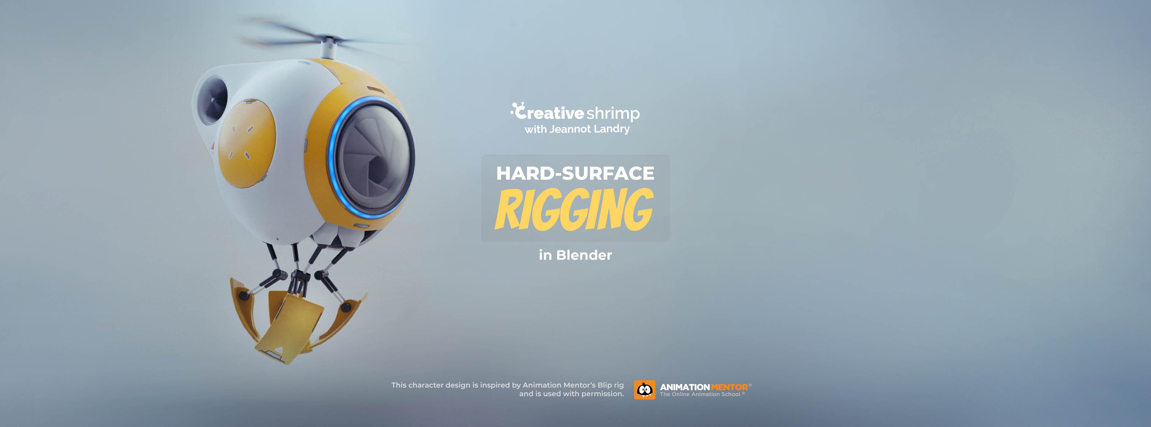 hard surface rigging in blender
