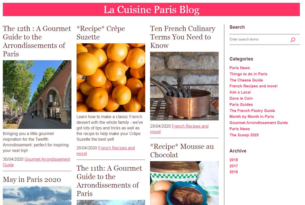 La Cuisine Paris Food Blog