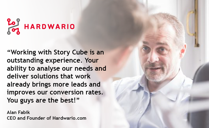 Story Cube Testimonial