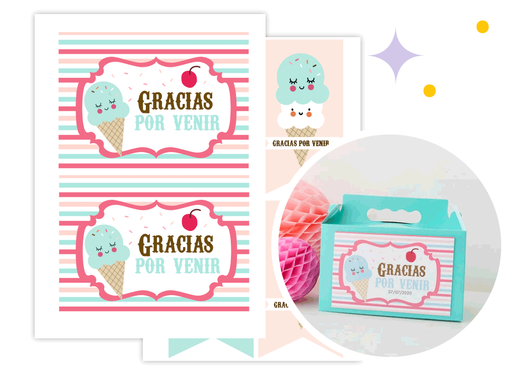 Curso online para diseñar kits de fiesta