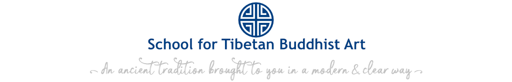 School for Tibetan Buddhist Art logo