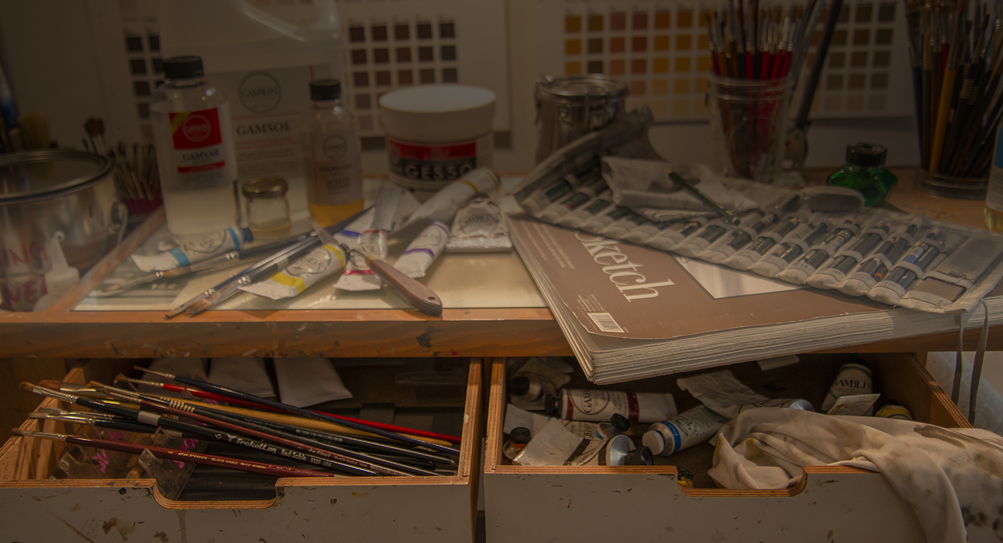 Drawing and oil painting materials needed for RL Caldwell courses