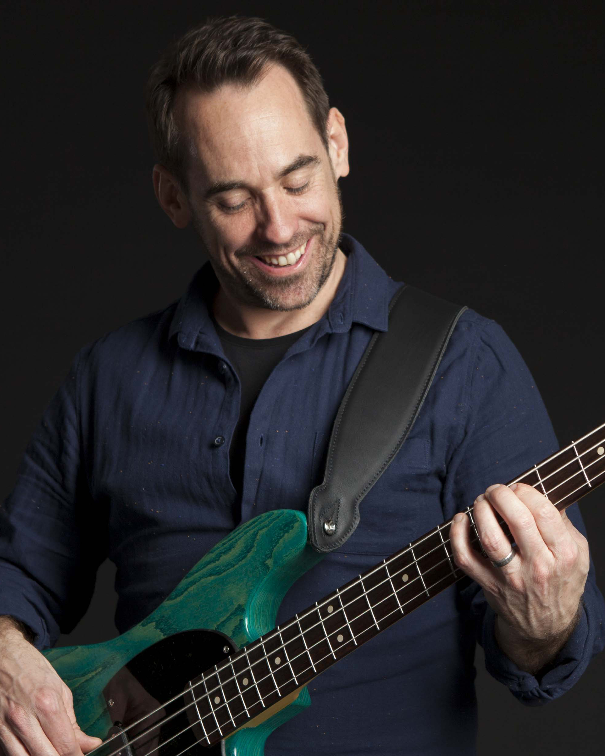Greg Hagger founder of Greg's Bass Shed Online Bass School