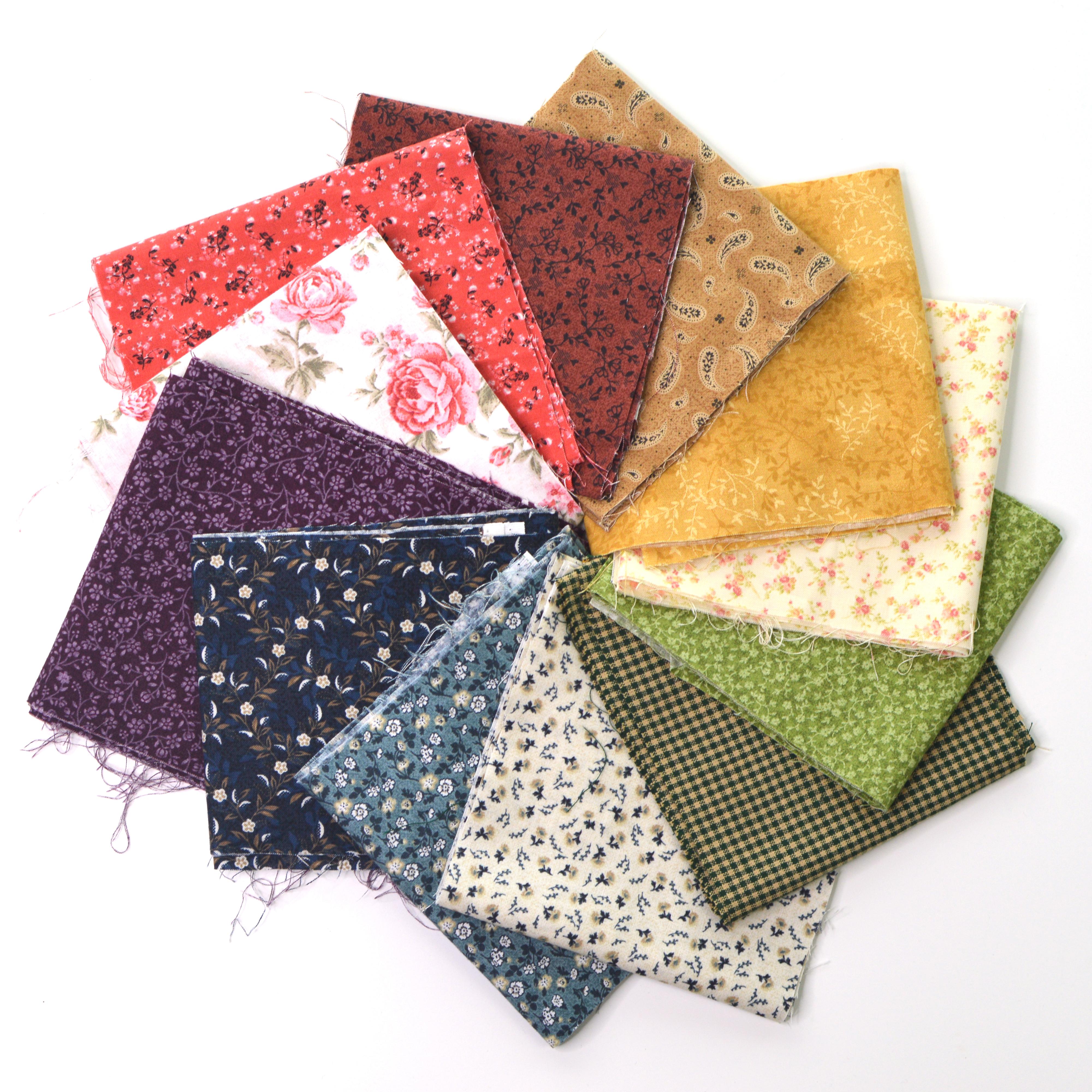 traditional fabric rainbow