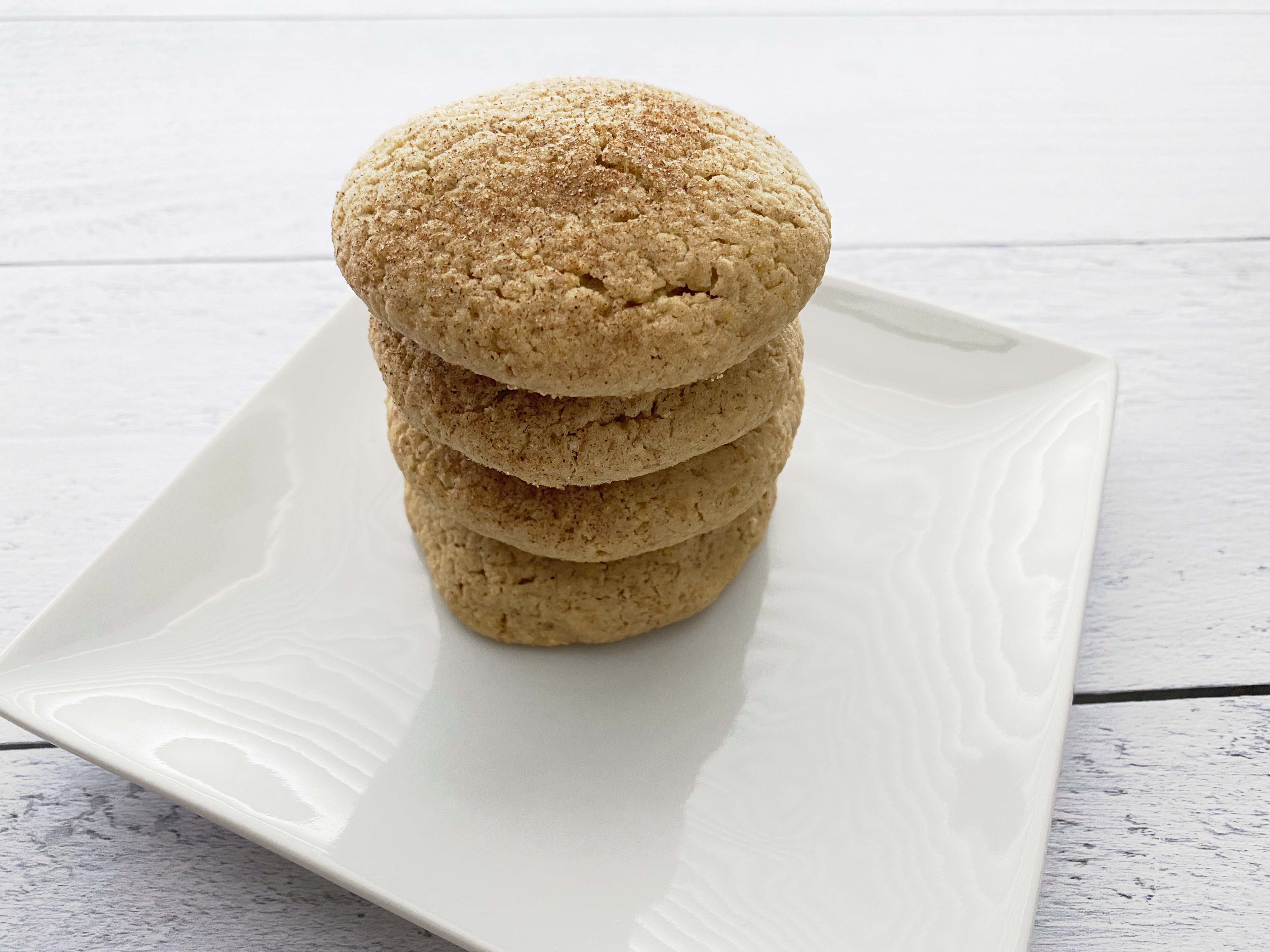 Gluten Free, Vegan, Snickerdoodle Cookies