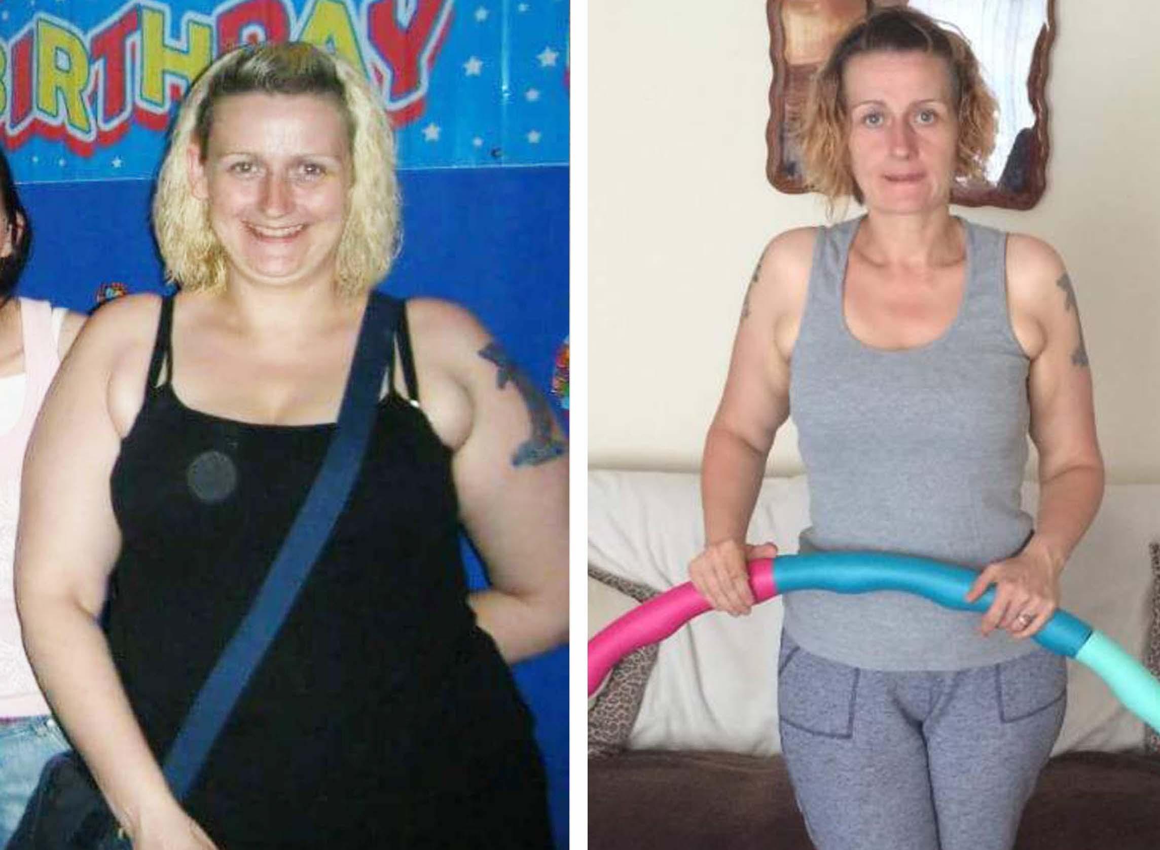 Beverley before and after Powerhoop