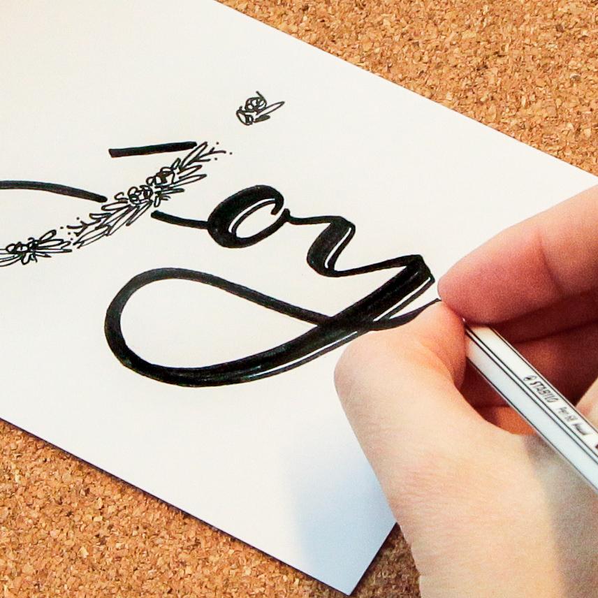 Wörter lettern